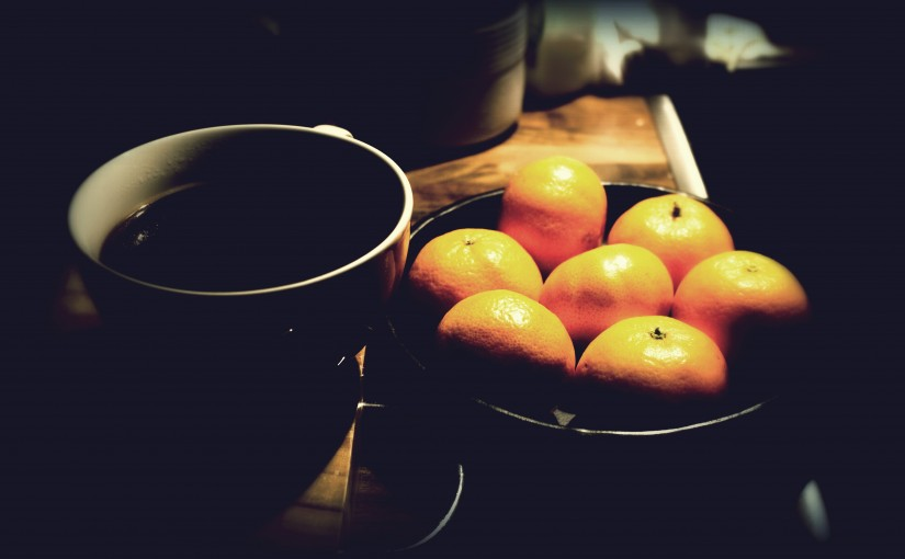 Coffee and Oranges